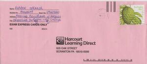 Barbados -1997 Local Fruits, $1.15 Soursop Commercial Cover to USA - Flora