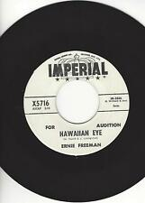 "R & B/POPCORN INSTRUMENTAL- ERNIE FREEMAN- ""HAWAIIAN EYE""- PROMO- NEAR MINT"