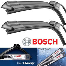 "2 Bosch BEAM Wiper Blades Size 22"" & 21"" - ""Clear Advantage"" Front Left & Right"