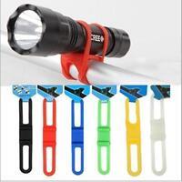 2pcs Universal Bike Handle Bar Holder Mounting For Flashlight Torch  HOAU