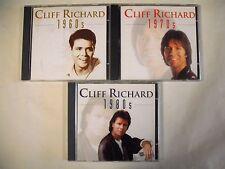 Cliff RICHARD 1960' , 70' , 80'  - 3 CD