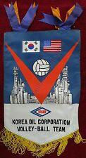 Korea Oil Corporation Volleyball Team Korea/Usa Banner/Flag