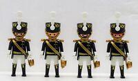 4 PREUSSEN GARDE HUSAR SOLDAT OFFIZIER Playmobil zu Hussard Prussian > Napoleon