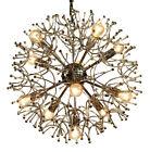 Gaetano Sciolari Sputnik Ball Pendant Lamp Vintage XL Chrome Dandelion 1960`s