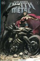DARK NIGHTS DEATH METAL #1 LEE VARIANT NM JOKER BATMAN WHO LAUGHS WONDER WOMAN