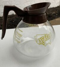 Vintage RARE Nifda Unipro Foodservice Industry Coffee Pot 1950's Server Glass