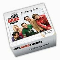 THE BIG BANG THEORY CARD GAME (DAMAGED BOXES)  BRAND NEW & SEALED CHEAP !!!!!