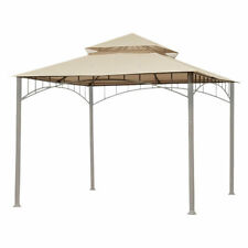 Gazebo Top Replacement Outdoor Canopy 10.6'x10.6'  For Water Resistant 2 Tier