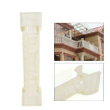 1 Set 89cm Mould Balustrades Mold for Concrete Plaster Cement Plastic Casting