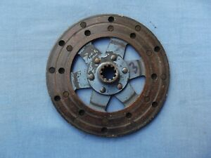 Ford SideValve Y-7550 clutch friction plate Y C CX E93A 103E 7W 7Y E493A E04A