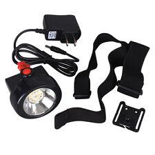 Portable 3000LUX 1W LED Wireless KL2.5LM Mining Cap Lamp Li Battery US Seller