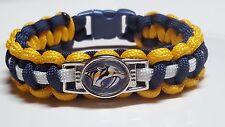 Nashville Predators Paracord Bracelet or Lanyard or Deluxe Key Chain