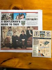 Mumford And Sons Gentlemen Of The Road Troy Paper And Card Lot