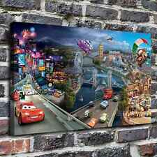 "20""x32""Disney Cars 2 Paintings HD Canvas Print Painting Home Decor Wall Art"