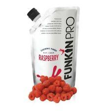 Funkin Pro Raspberry Puree, 1 kg. 100% natural fruit. Cocktail. Smoothie, mixer.