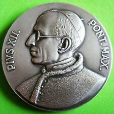 L@@k Religious The Venerable Pope Pius XII Brazil 1955 Congress Medal by MONTINI