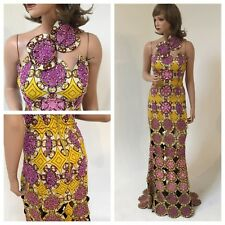 Iconic InVanity-Nigerian Designer: Sample Sale. Beaded gown-Made in Africa