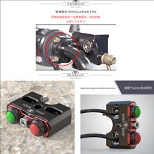 22mm Motorcycle Reset Self-Locking Dual Switch Speaker Push Button Motor On-Off