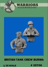 Warriors 1:35 British Tank Crew Burma 2 Resin Figures Kit #35706