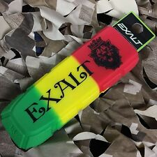 New Exalt Bayonet Barrel Cover Sock Plug Condom - Rasta Lion (Green/Yellow/Red)