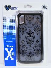 Disney 50th Anniversary Haunted Mansion Wall Paper Apple Iphone 10 XR Case NEW