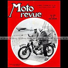 MOTO REVUE N°1729 CZ 250 CROSS SCOOTER MANURHIN MIKE HAILWOOD MANX MZ 1965