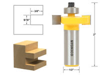 "5/16"" Height X 3/8"" Depth Slot Cutter Router Bit - 1/2"" Shank - Yonico 14185"