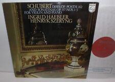 6500 885 Schubert Duo For Violin & Piano Ingrid Haebler & Henryk Szeryng