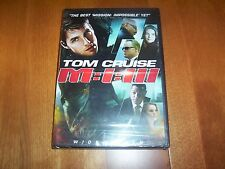 Mission: Impossible III Tom Cruise Widescreen M:I:III Spy Thriller DVD NEW