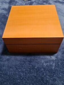Officine Panerai - Pear Wood Firenze 1860 Watch Box Case (Mark on Box) See Pic