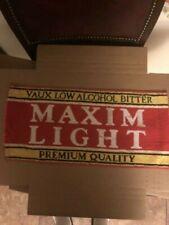 Bar Towel, Beer, Maxim Light - Vaux Low Alcohol Bitter-Premium Quality-Great