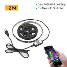RGB LED Strip Lights IP65 Waterproof 5050 5M 300 LEDs 12V & Bluetooth Controller