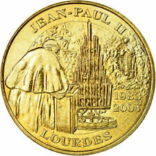 [#735756] France, Token, Touristic token, Jean-Paul Ii, Lourdes, Arts & Culture