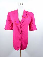 Mila Schon for Fiorella Rubino Women's Formal Wedding Blazer Jacket sz 12 M BC58