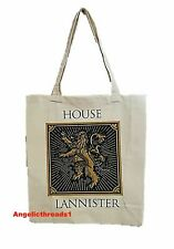 HBO Game Of Thrones Eco Canvas Shopper Bag Tote School Primark Mother Of Dragons