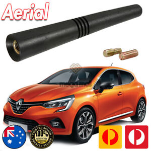 Antenna Aerial Stubby Bee Sting for Renault CLIO RS200 Turbo Black Flexi Rubber