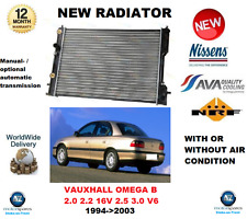 FOR VAUXHALL OMEGA B 2.0 2.2 16V 2.5 3.0 V6 1994-2003 NEW RADIATOR * OE QUALITY*