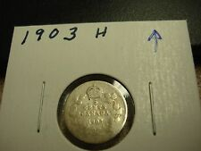 1903 H - Canada Silver Nickel - Canadian 5 cent