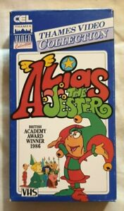 Alias The Jester VHS 1985 Animated Series CEL / Thames Cardboard Case Release
