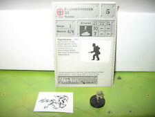 Axis & Allies Eastern Front Flammenwerfer 35 with card 33/60
