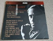 JOHN BARRY CONDUCTS HIS GREATEST MOVIE THEMES SOUNDTRACK VINYL LP - CBS 63038