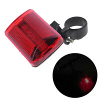 5 LED Rear Tail Bike Bicycle Back Light Night Safety Warning Flashing Lamp Red