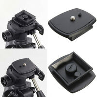 Tripod Quick Release Plate Screw Adapter Mount Head For DSLR SLR Camera FG