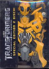TRANSFORMERS - la vendetta del caduto - 2 dvd  bumblebee