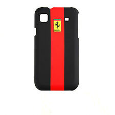 CUSTODIA FERRARI RUBBER TOUCH BACK CASE FACEPLATE per SAMSUNG GALAXY S i9000