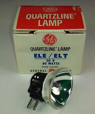 General Electric ELE ELT Projection Lamp Bulb 80W 30V New Old Stock