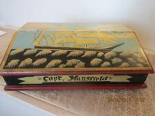 MARITIME, CAPT. MANSFIELD'S WOOD LAP TOP DESK