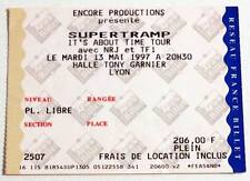 SUPERTRAMP : rare billet ticket concert FRANCE Lyon 13/05/1997