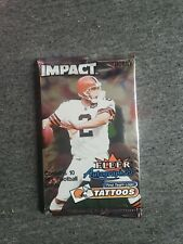 1 UNOPENED 2000 Fleer Impact Football HOBBY Pack 🔥Possible Tom Brady Rookie 🔥