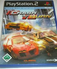PS2 - PlayStation 2 - Crash and Burn - Game/Action/Anleitung